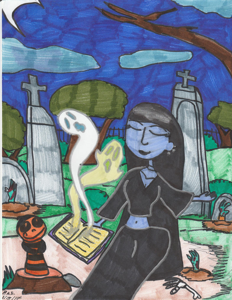 Summoning the Dead by Millie-the-Cat7