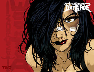 American Dark Age issue two wrap-around by megabraincomics