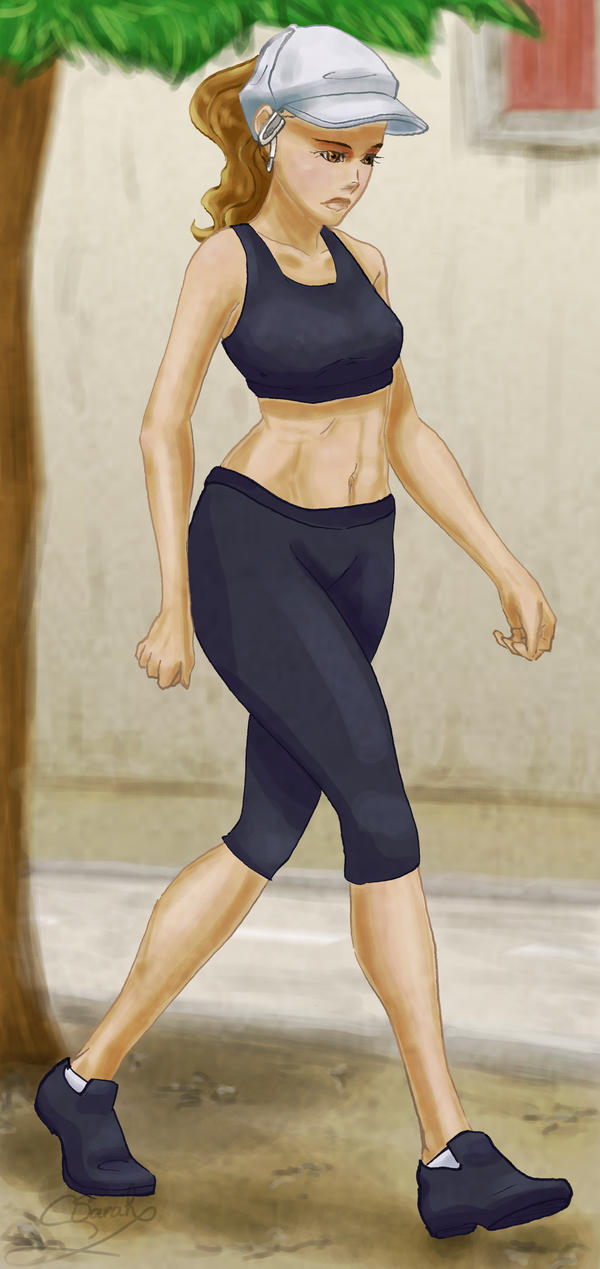 Running Outfit by CrystalAkumA on DeviantArt