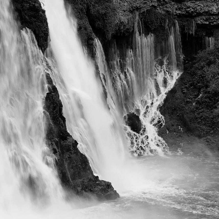 Burney Falls 2 by warren-wol