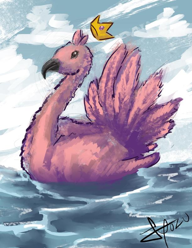 Pink Bird Thing by SaintHelena