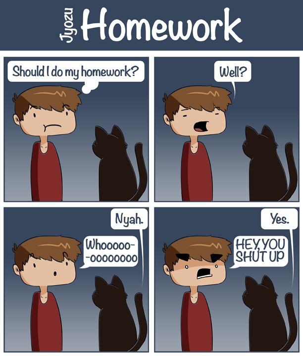 Homework by SaintHelena