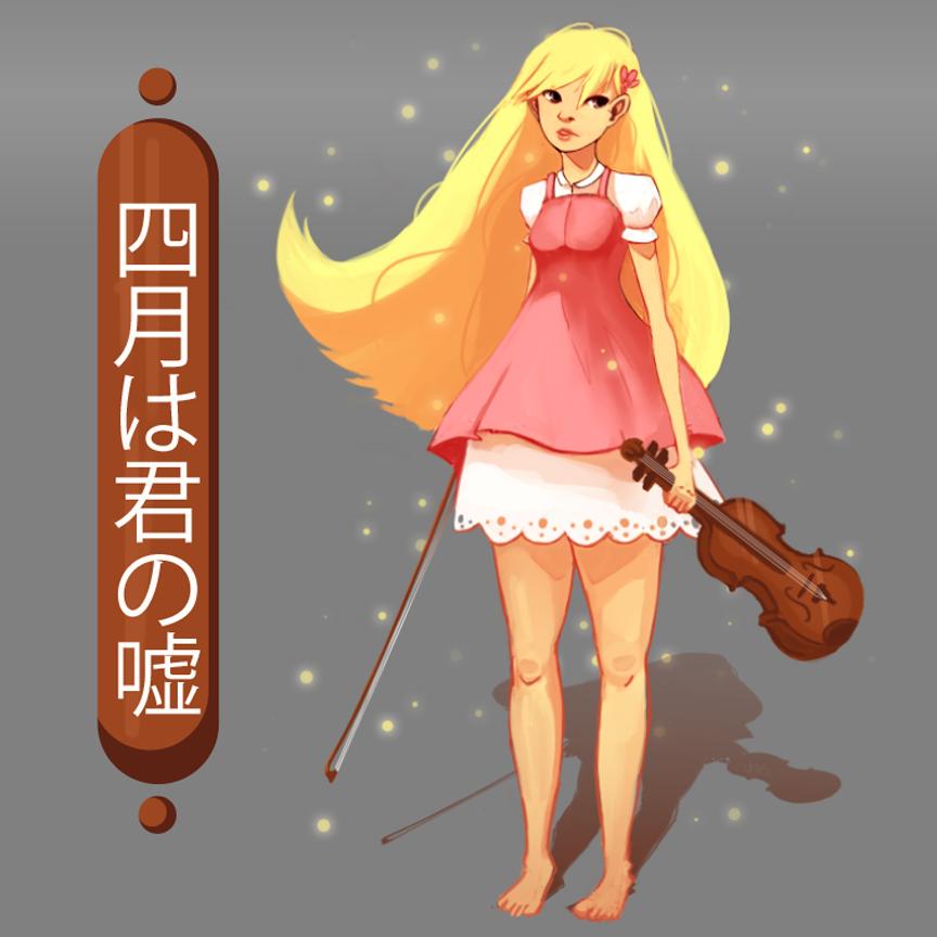 Miyazono Kaori - Shigatsu wa Kimi no Uso by SaintHelena