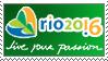 Rio 2016 stamp by leogomes91
