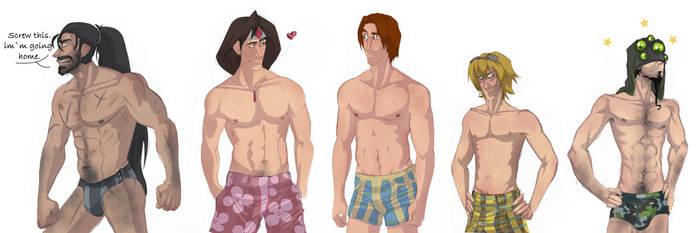 LoL Swimsuit STUDS by RainbowSnow