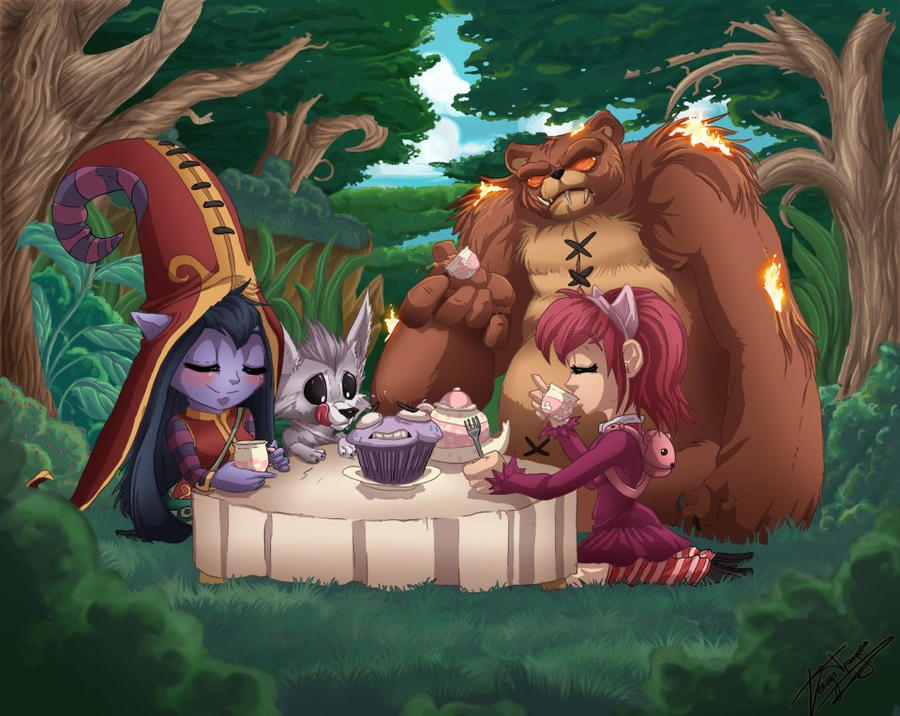 Tea Party by RainbowSnow