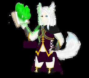 Magic Fox Girl