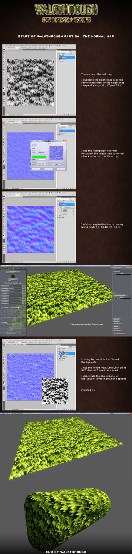 3D Texture Walkthrough Part 04