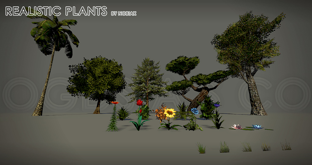 OGDS Realistic plants by Nobiax