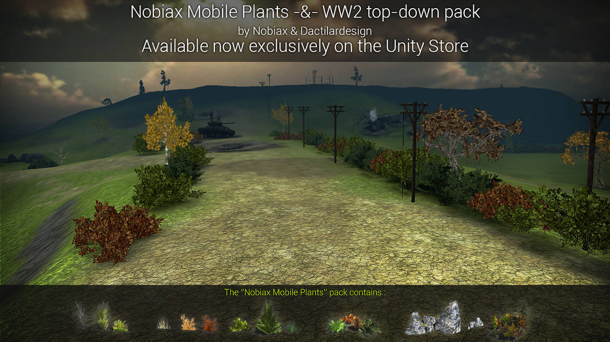 Unity Store - Assets for mobile - collaboration by Yughues on DeviantArt