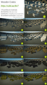 Unity : Wooden Crates
