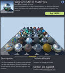 UE4 Marketplace : Metals pack