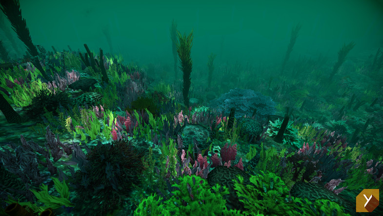 Updated unity underwater plants by nobiax on deviantart for Underwater pond plants