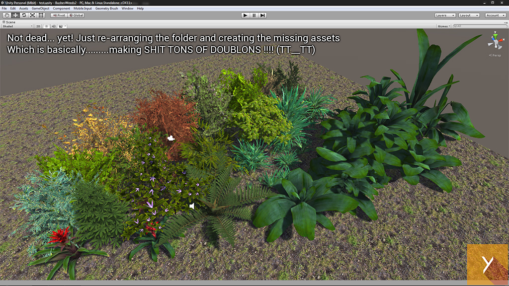 BushesWeeds 2.0 WIP2 by Nobiax
