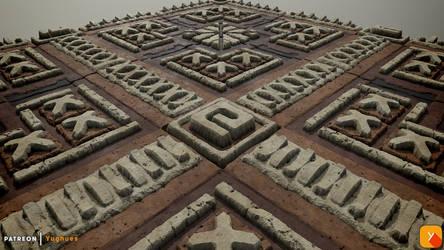 Yughues Mayanish Decoration Material by Yughues