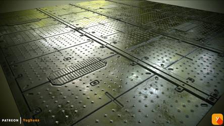 Warframe texture ReCreation 01 by Yughues