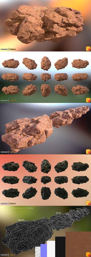 Yughues PhotoRock 10 - Cluster