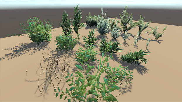 [UNITY] Yughues Patreon Plants #01