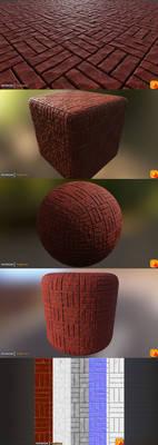 Yughues 4K RedBricks Material