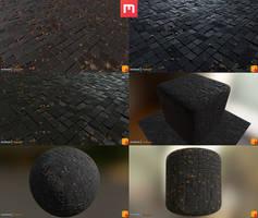 Yughues Tiles Damaged (w/out rocks)