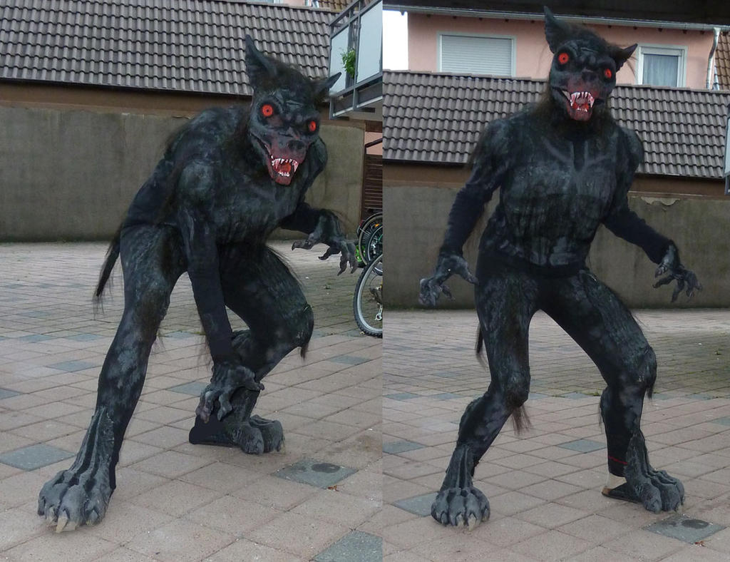 npc low budget werewolf costume by furforge on deviantart. Black Bedroom Furniture Sets. Home Design Ideas