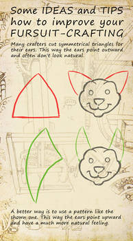 How to improve your fursuit-crafting - Ears