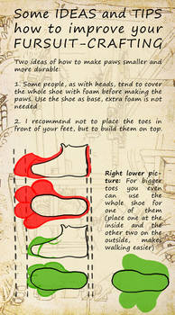 How to improve your fursuit-crafting - Feet v2