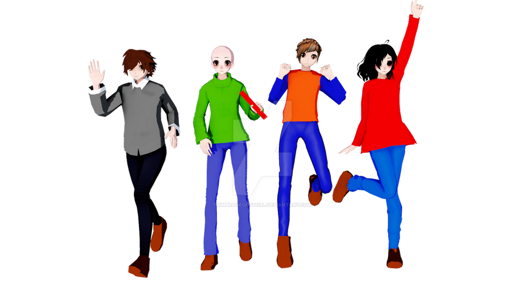 mmd baldi s basics by umbrageousdoll on deviantart