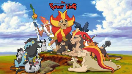The Pyroar King by sbooc