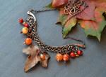 Late autumn - Samhain necklace