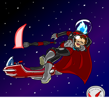 Scaphandre the Space Dullahan! (6/6) by Dr-Scaphandre