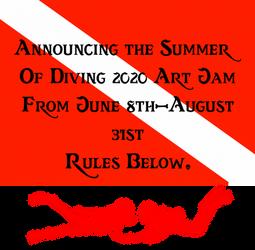 Announcing the Summer Of Diving 2020 Art Jam