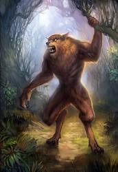 Werewolf by LeKsoTiger