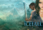 Icefall book cover by Lawrence Mann