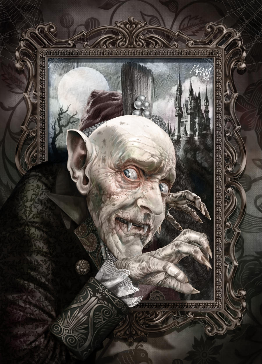 Capturing a Vampire's Portrait by LawrenceMann