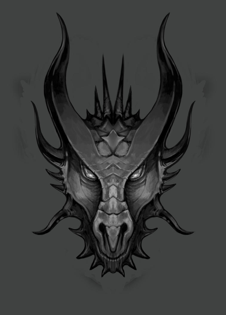 Dragonu0026#39;s Head Sketch 02 By LawrenceMann On DeviantArt