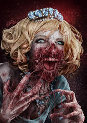 Blood and teeth by LawrenceMann