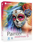 Painter Essentials 5 Box cover artwork