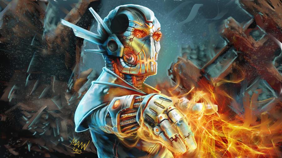 Metal Monster by LawrenceMann