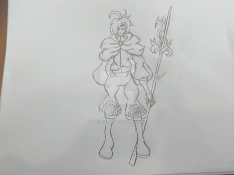 Napier sketch