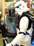 Boba Fett and Stormtrooper
