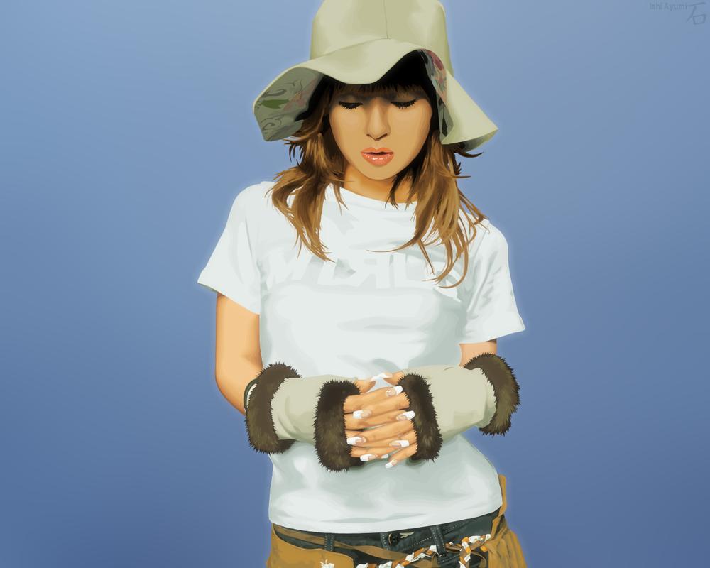 Ayumi Hamasaki :1280x1024: by Ishi-Eiketsu