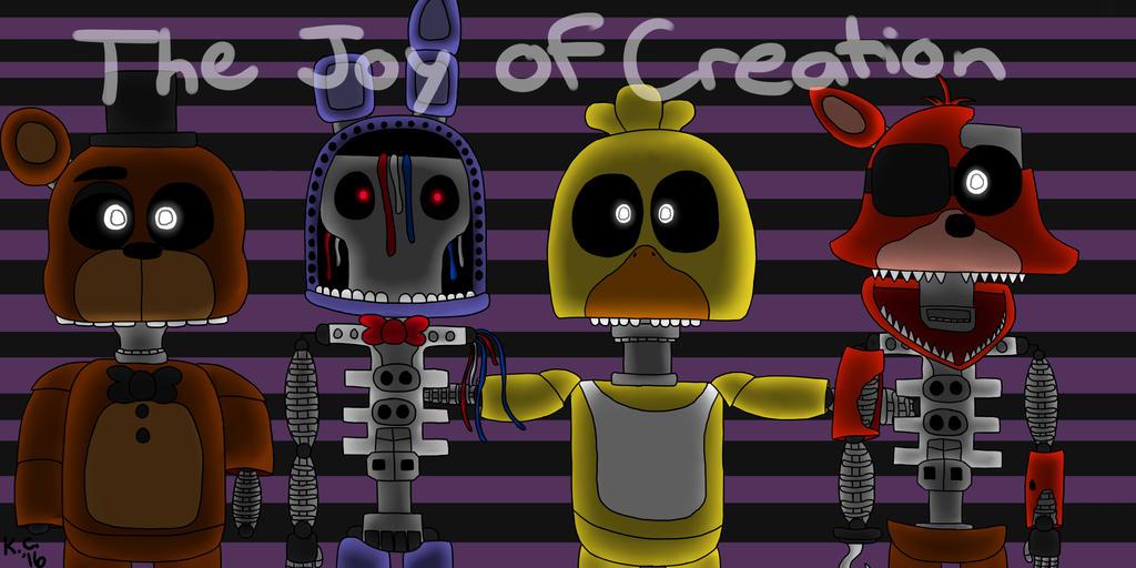The Joy of Creation Reborn (FNaF Fan Game) by LucarioSonicAura398 ...