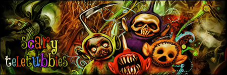 scary teletubbies by Boica