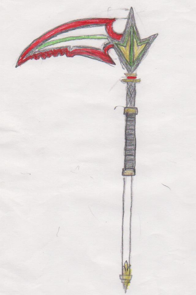 Bladed Fan Weapon : Oc weapon astro slider by orange blade on deviantart