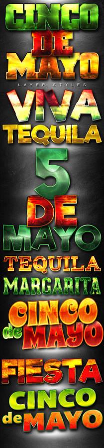 Cinco De Mayo Layer Styles