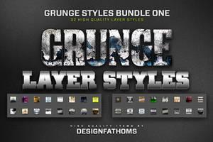32 Grunge Styles Bundle 1