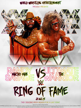 RING OF FAME - Randy Savage Vs Ultimate Warrior