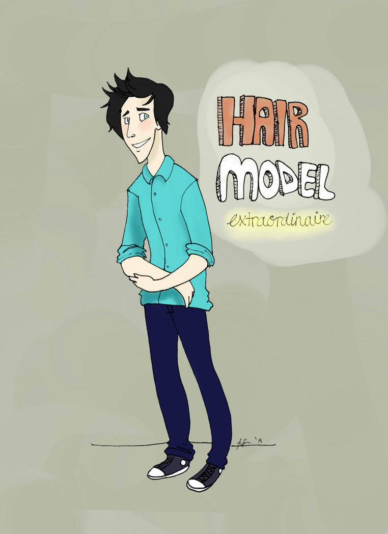 Phil Lester Hair Model Extraordinaire by LoveTheMadHatter