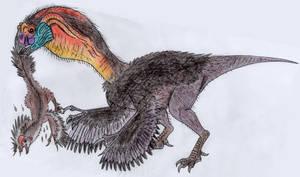 Gigantoraptor by WDGHK